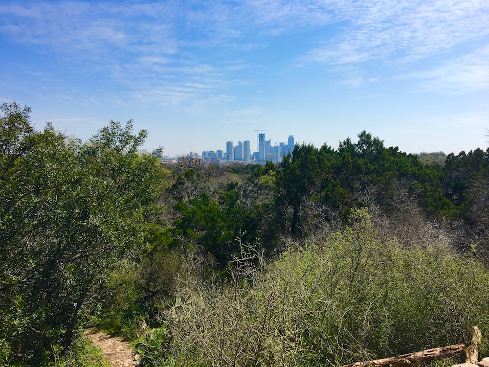 View from Mt Bonnell. 3 day itinerary for Austin Texas.