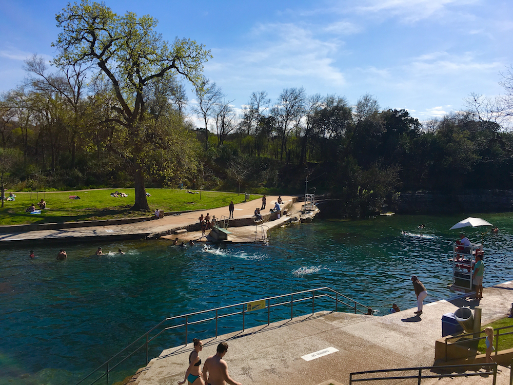 Barton Springs Pool. # day itinerary for Austin Texas