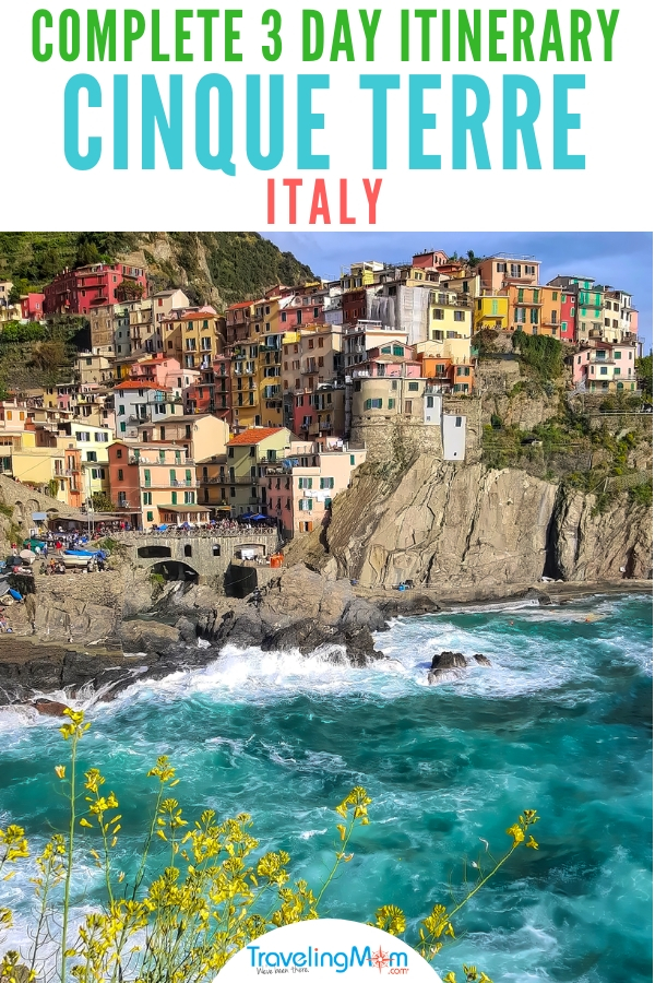 Cinque Terre, Italy: What to do and where to eat on Italy's coast in the five colorful fishing villages that make up the Cinque Terre. The best hikes, plus how to travel from Florence or Milan in this three day itinerary. AD #CiaoFlorence #CinqueTerre #ItalianRiviera #Italy #Manarola