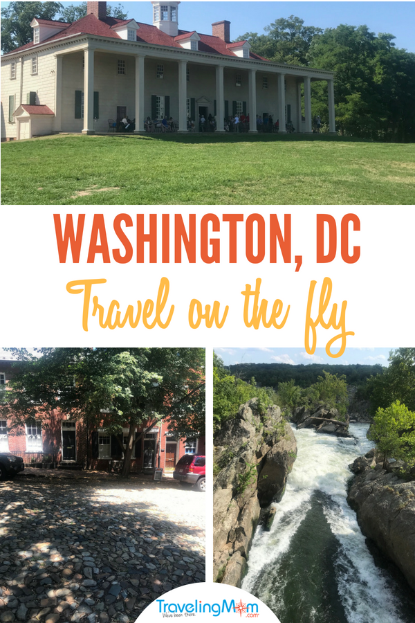 pin for post on day trips from Washington DC