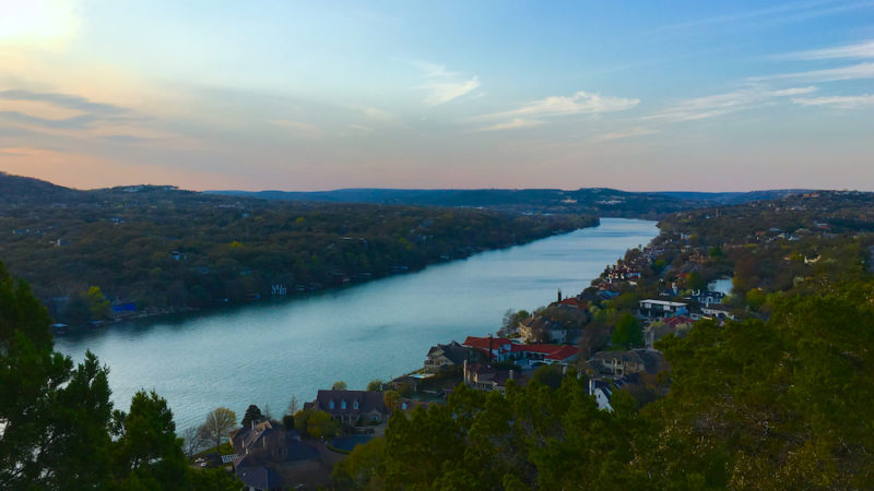 Mt Bonnell, 3 day Austin Itinerary