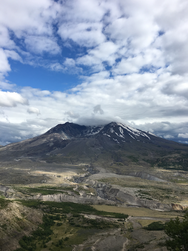 Mt St. Helens National Park. West Coast national park trips for families