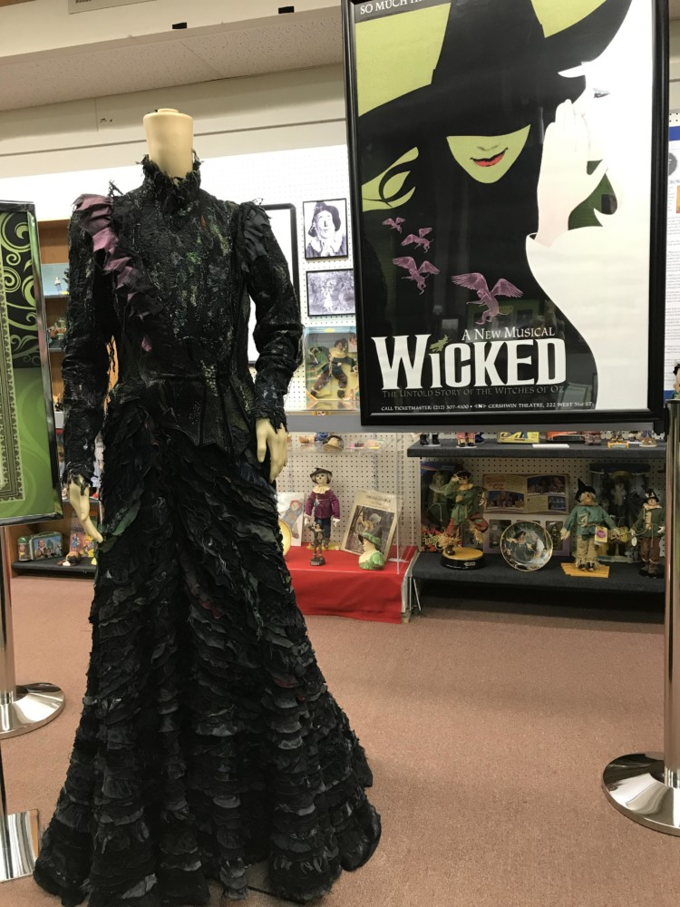 Must-Visit Places on the New York Path Through History Trail: all Things Oz Museum and Wicked costume.