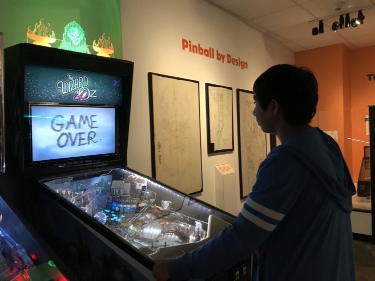 Must-Visit Places on the New York Path Through History Trail: The Strong Museum of Play in Rochester and its pinball room.