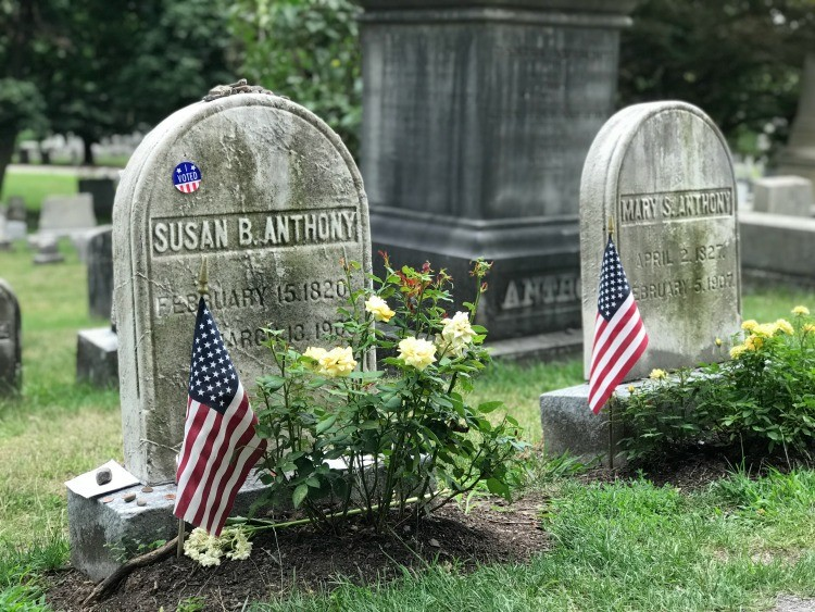 Must-Visit Places on the New York Path Through History Trail: Susan B. Anthony.