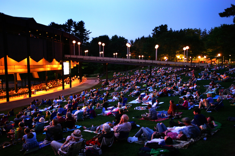 Saratoga Springs NY is the summer home of the Philadelphia Orchestra.
