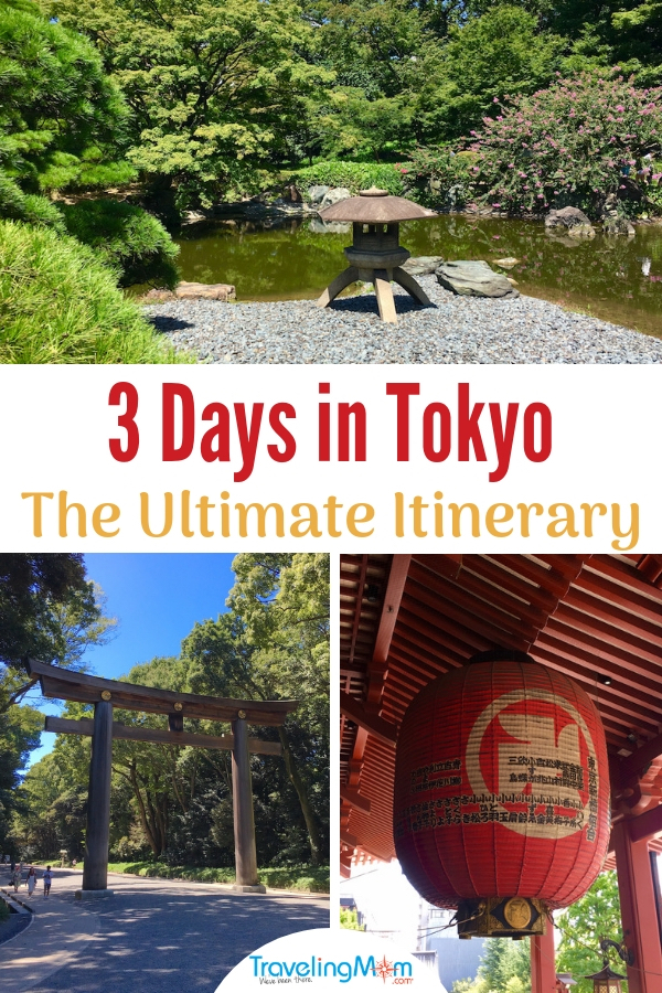 Get help planning your trip to Tokyo. Here's an itinerary packed with Japanese gardens, museums, temples and shrines. Get suggestions on where to sample Japanese cuisine and the best of Tokyo nightlife. #Tokyo #TMOM #FamilyTravel