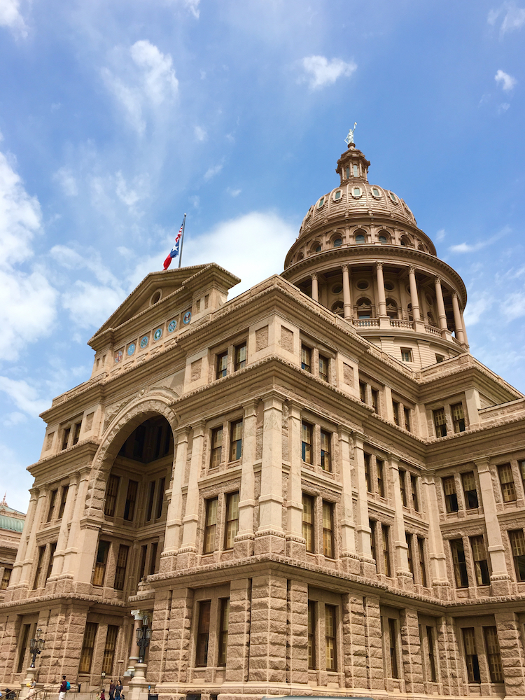 Texas State Capitol, Austin 3 day Itinerary