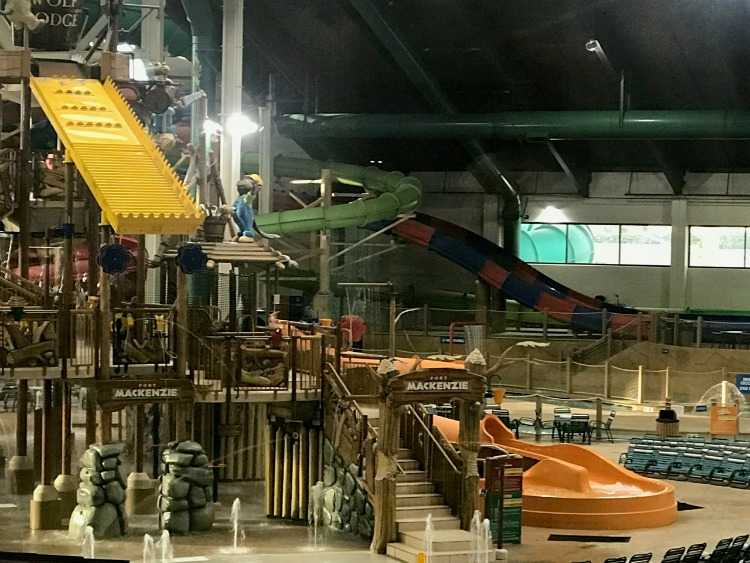 The indoor waterpark at Great Wolf Lodge Anaheim has something for everyone, including preschoolers. Photo by Multidimensional TravelingMom, Kristi Mehes.