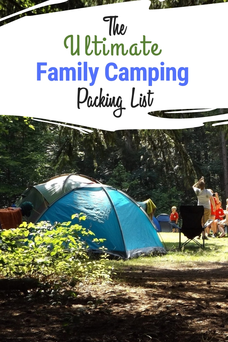 Ultimate Family Camping Packing List