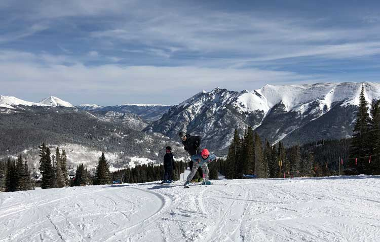 Skiing is just one of many fun things to do at Copper Mountain Ski Resort.