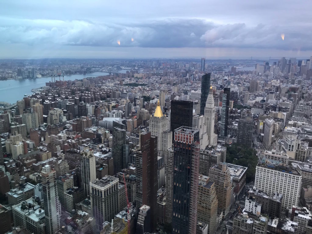 Even some NYers think going up the ESB is one of the top things to do in NY