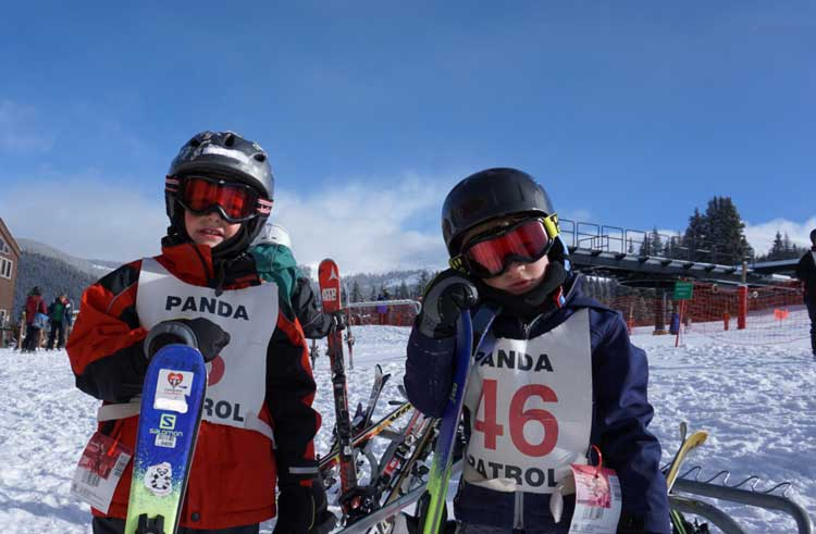 02a804b1df Be prepared with ski gear for ski school on your family ski trip.
