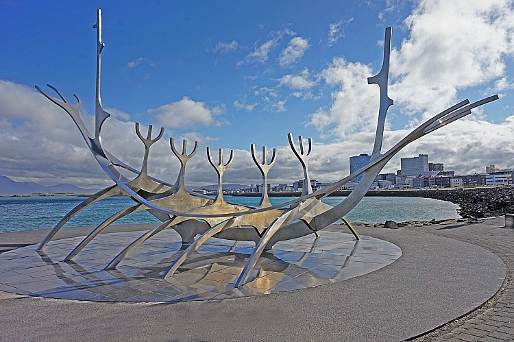 Iceland planning tips. Sun Voyager sculpture in Reykjavik.