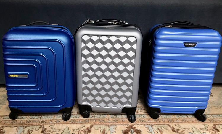 3 of our favorite bags on our lightest carryon luggage list #asuitcase #luggage #bags