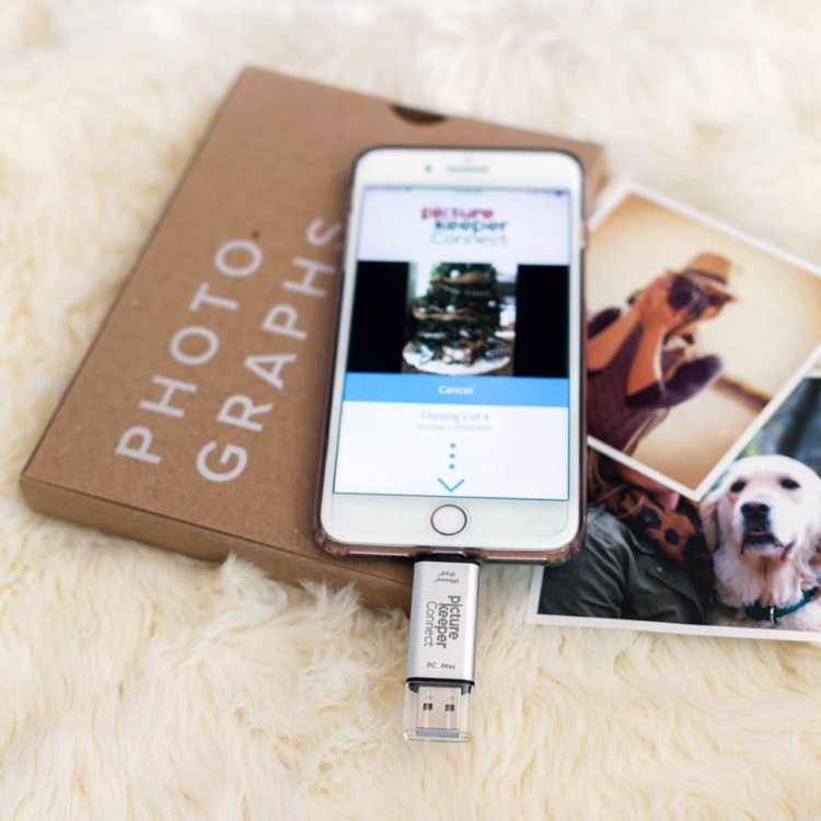 Don't worry about deleting pictures with the PhotoKeeper Connect. | TravelingMom Best Travel Gifts for Women