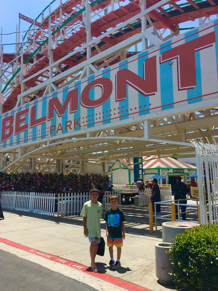 Belmont Park. Best Sothern California Beaches for camping.