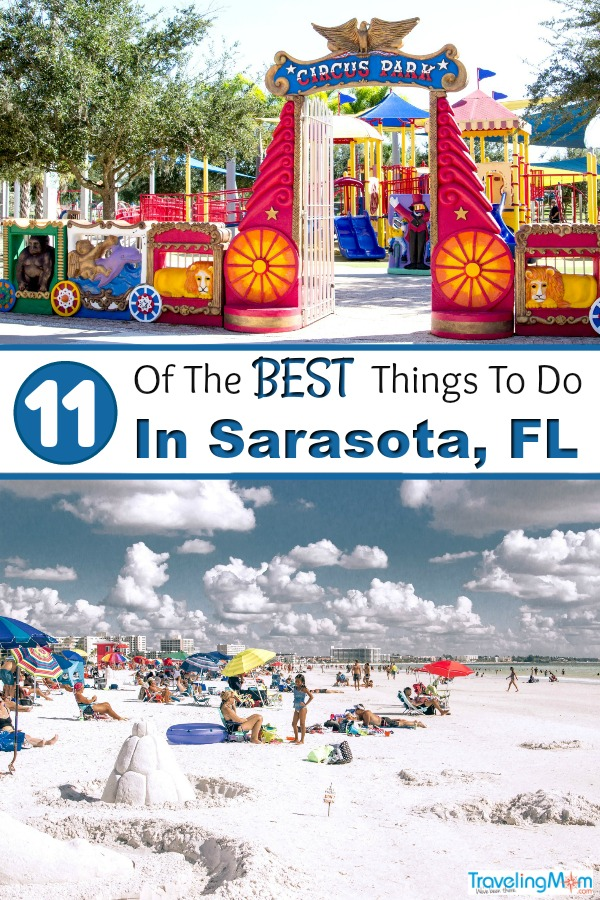Things to do in Sarasota Florida - Planning a Sarasota vacation? If you're visiting Sarasota with kids, you'll find plenty of kid friendly activities. From Siesta Key Beach to the Ringling Museum, there's no shortage of things to do in Sarasota #Sarasota #Sarasota Florida #thingstodoinSarasota
