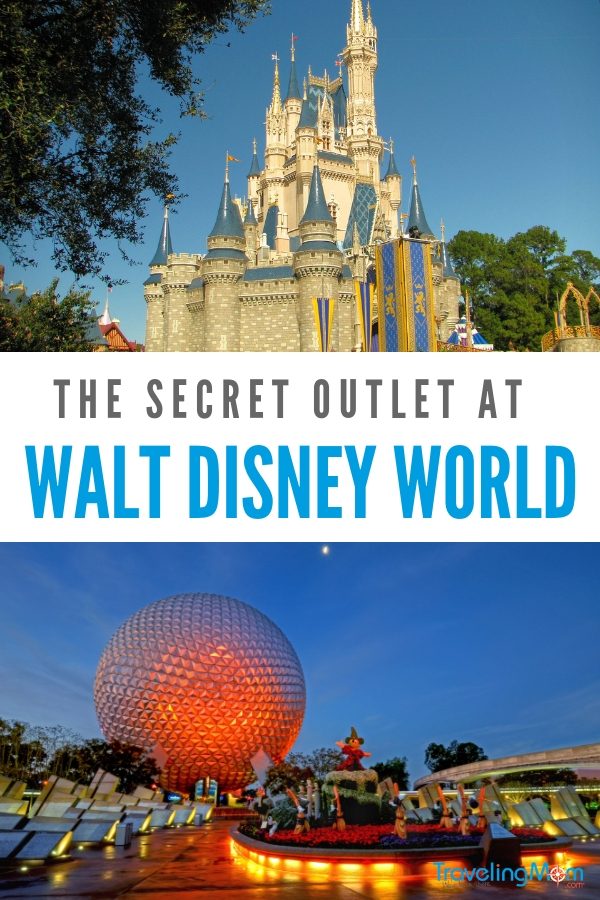 Learn about the secret Disney Outlet at TravelingMom.com.