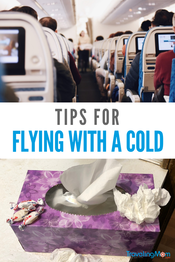 Few things are worse than flying with a head cold. It feels as though your head will explode. Follow these tips to help reduce the sinus pressure and get through the flight.