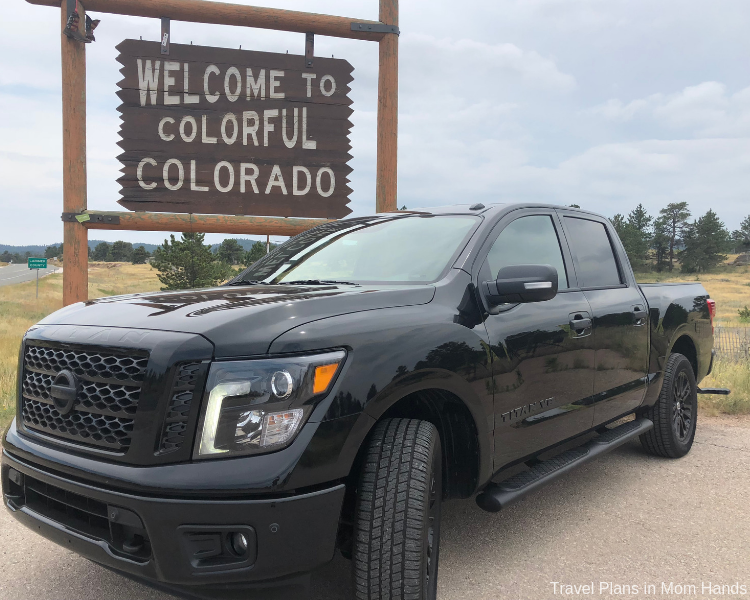 Jackson Hole and the Grand Tetons are way easier to navigate in a truck, especially this 2018 Nissan Titan