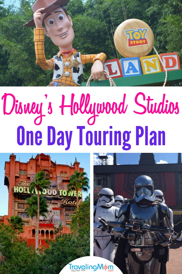 Following this one day touring plan allows your family to optimize their time at Disney's Hollywood Studios. #DisneyWorld #ToyStoryLand #HollywoodStudios #familytravel
