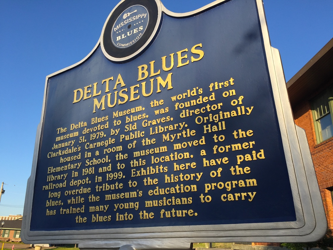 Among unique places to visit in Mississippi is the Delta Blues Museum in Clarksdale.