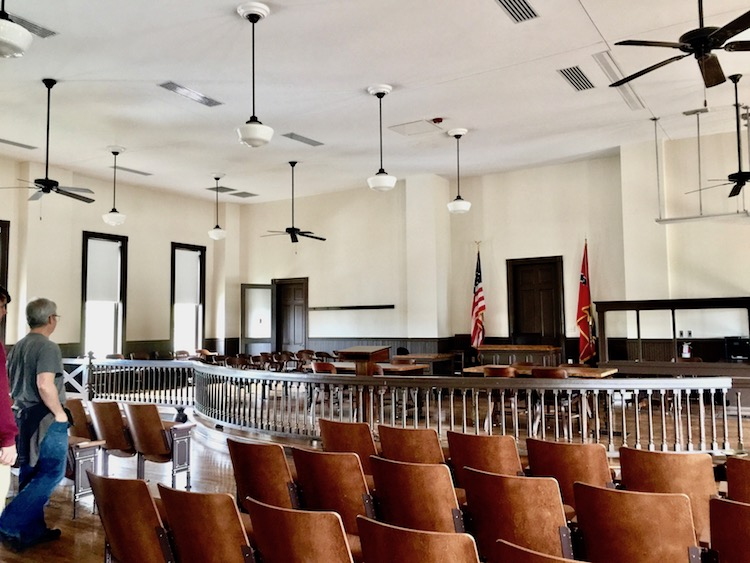 Among unique places to visit in Mississippi is the actual courtroom where Emmett Till's murderers were tried.