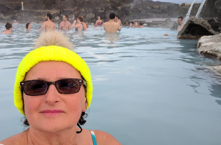Icelandic weather is perfect for thermal baths.