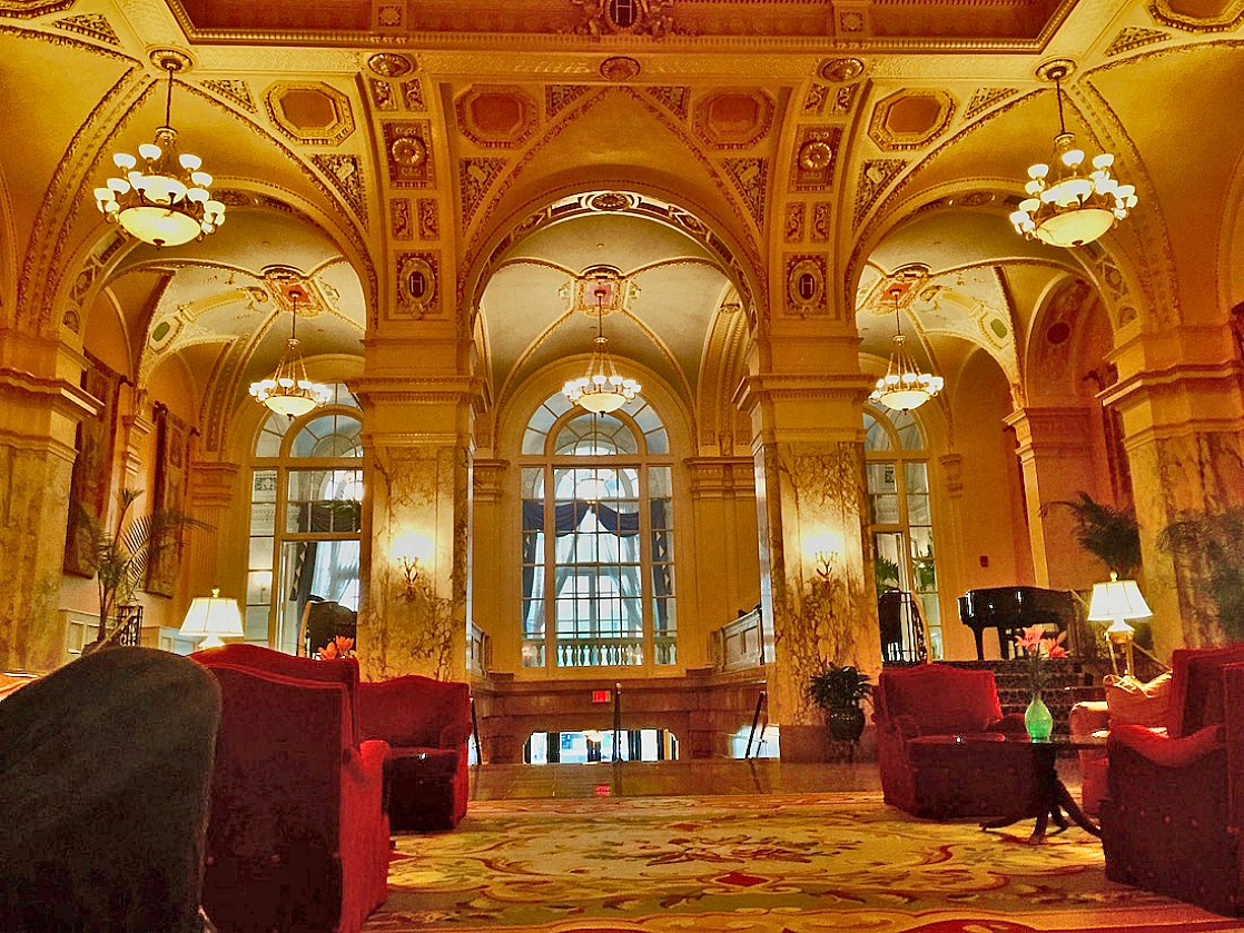 Things to do in Nashville for couples includes staying at The Hermitage Hotel