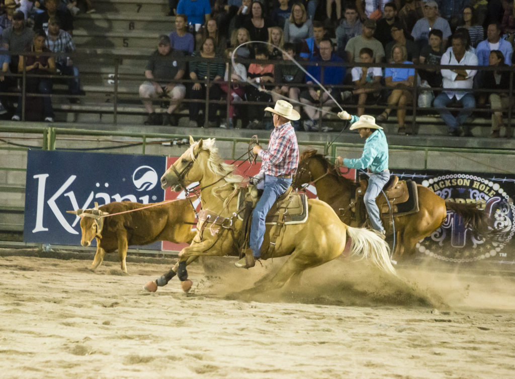 The Jackson Hole rodeo is one of the most entertaining things to do in Jackson Hole and Grand Tetons