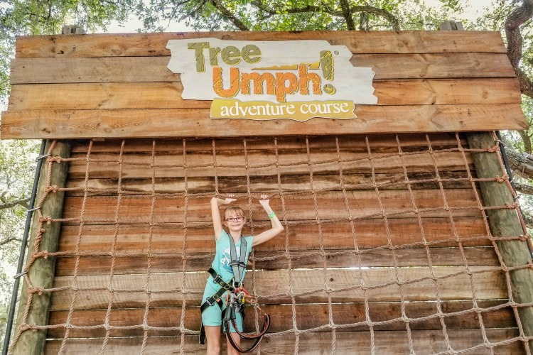 Learning the ropes at Treeumph Adventure Course is one of many things to do in Sarasota