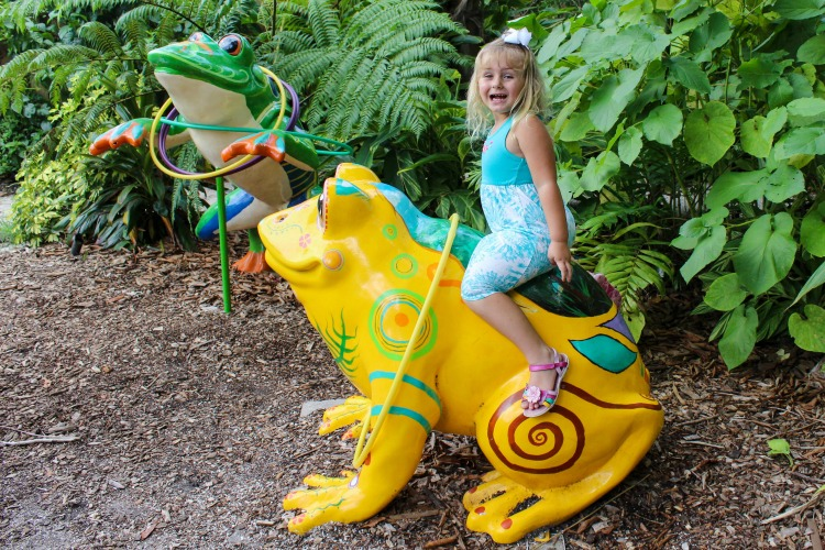 If you visit Sarasota with kids, be sure to check out the playground at Selby Botanical Gardens