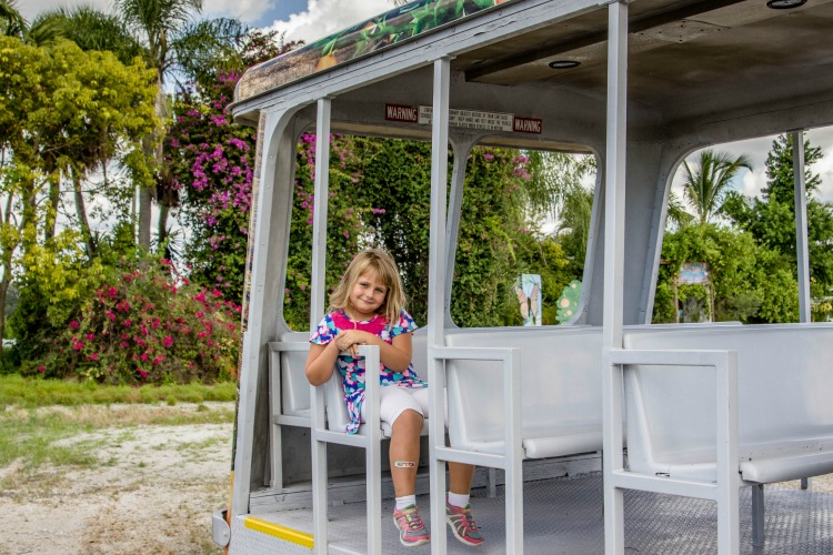 Take a ride on the Orange Blossom Tram at Mixon Farms