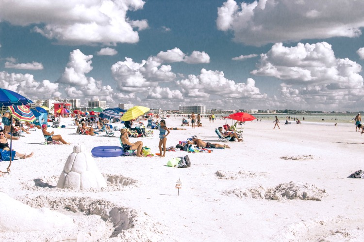 A day at Siesta Key Beach is one of the most popular things to do in Sarasota