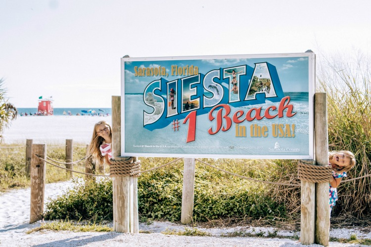 Siesta Key Beach is one of the best things to do in Sarasota