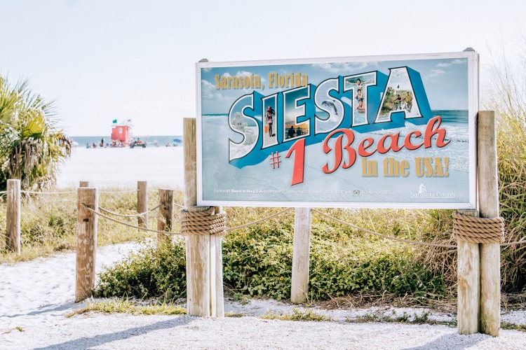Siesta Key Beach is just one of many things to do in Sarasota