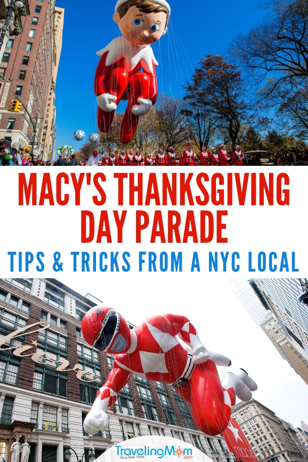 Will you see the Macy's Thanksgiving Day Parade in person? Watch it like a local with these tips from a lifelong New Yorker. #MacysThanksgivingDayParade #Thanksgiving #ThanksgivingDay