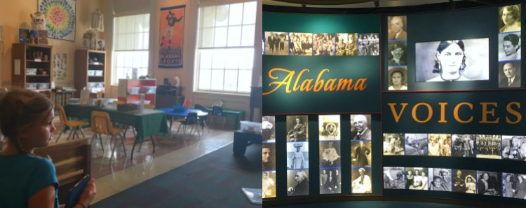Don't miss the Museum of Alabama located inside of the Alabama Department of Archives. It is one of the best free things to do in Montgomery Alabama with kids. Dress up clothes and educational boxes galore are available in Grandma's Attic.
