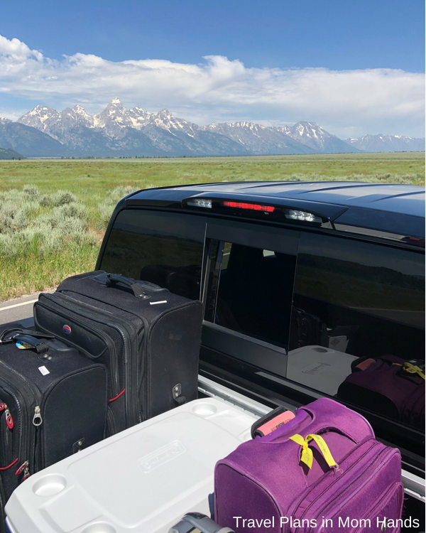 Boasting tons of cargo space in the flatbed, the Nissan Titan makes getting all your stuff around Jackson Hole and Grand Tetons for a road trip a breeze!