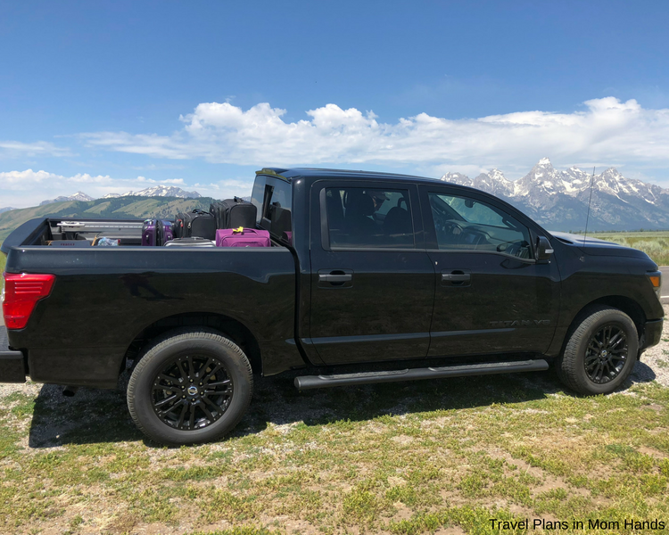 The Nissan Titan even took us over to Colorado's Rocky Mountain National Park after our Jackson Hole and Grand Tetons adventures.