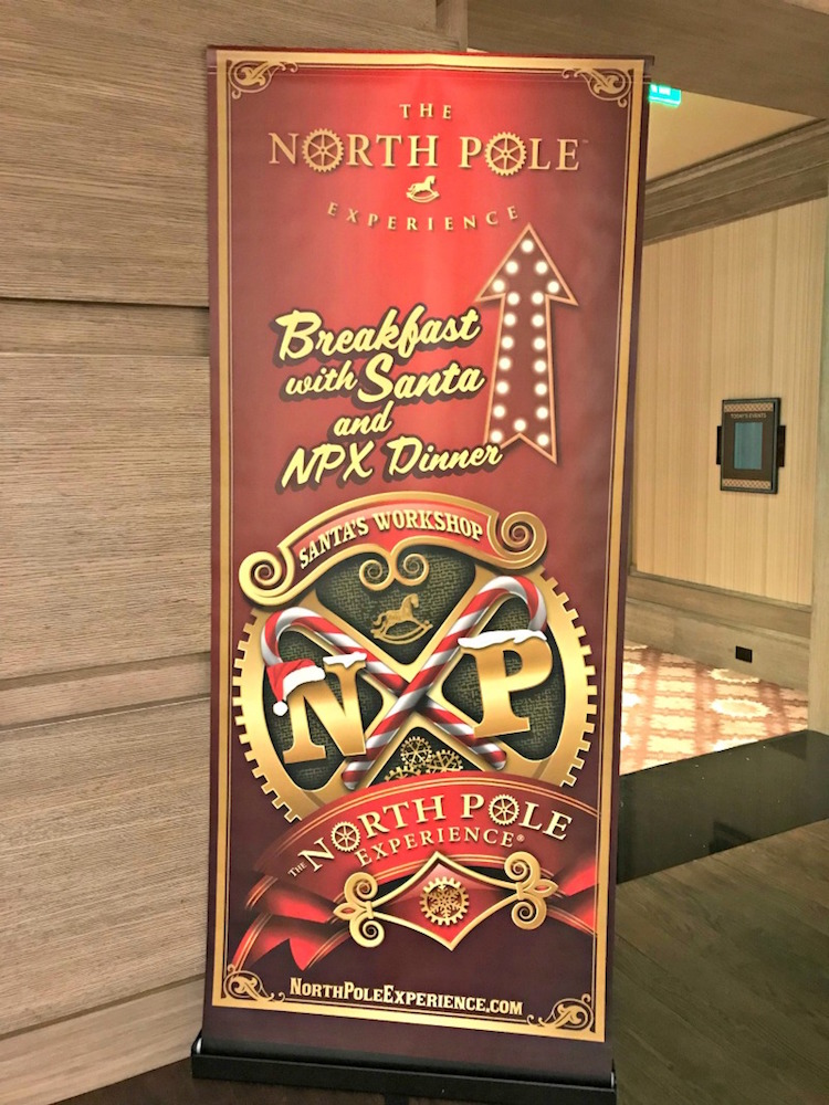 Breakfast with Santa at the North Pole Experience