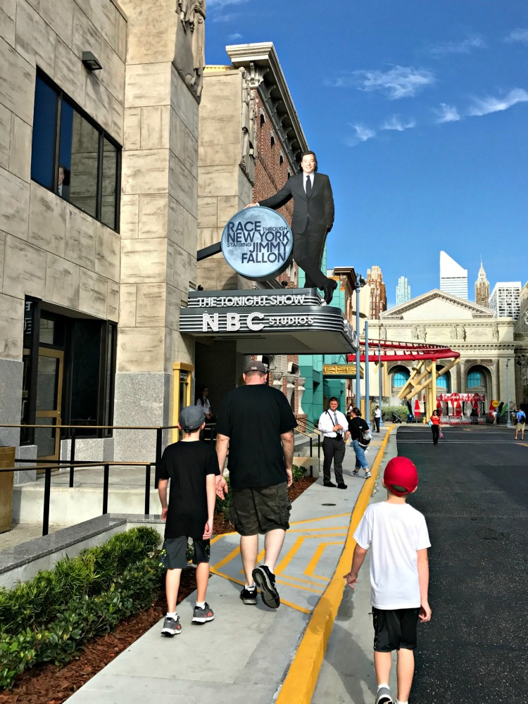 Race through new york with jimmy fallon is eligible for Universal Orlando Express Pass