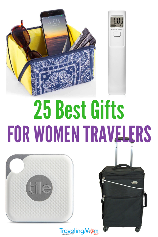 When it comes to gift guides, TravelingMom has came up with the best travel gifts for women. From travel journals to Uber gift card and sleep mask, this list has something for all the female travelers on your list.