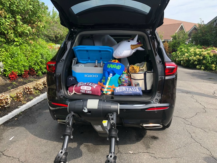 Ample cargo space in the Buick Enclave one of the best luxury SUVs TravelingMom