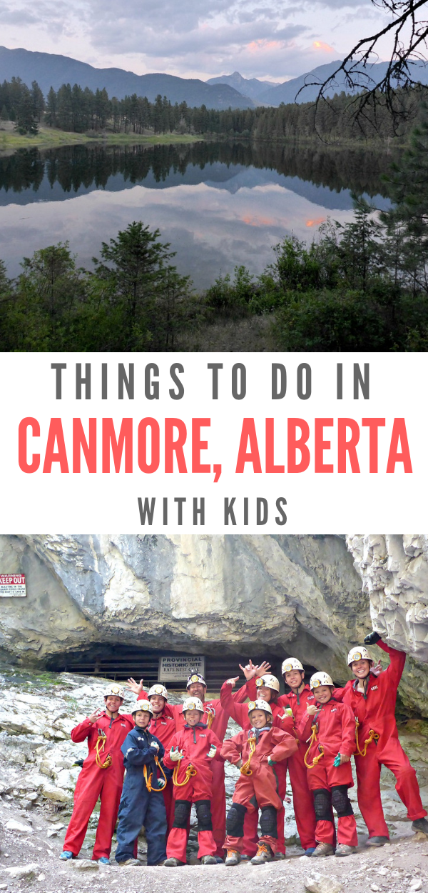 Family friendly, the Canadaian Rockies offers so many Adventurous Things To Do In Canmore with Kids. #thingstodoincamore #canmorealberta