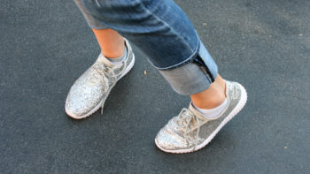 Looking for the most comfortable walking shoes for women to wear at the theme parks? Read the tips with suggestions for the best sandals, sneakers, flats and kid's shoes to wear on your next amusement park vacation.