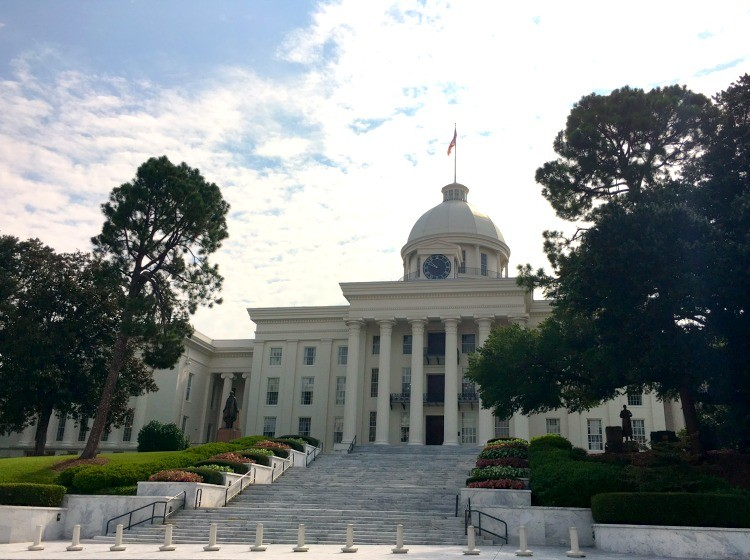 See the government in action with a free tour of Montgomery's Alabama State Capitol.