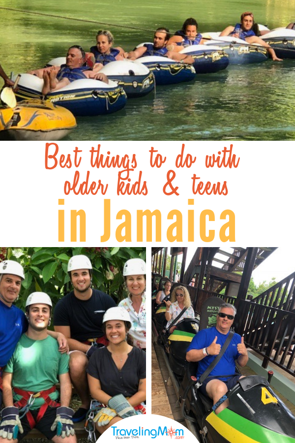 Check out these fun activities in Jamaica that work as well for parents as they do for college students and young adult children. #jamaica #familytravel