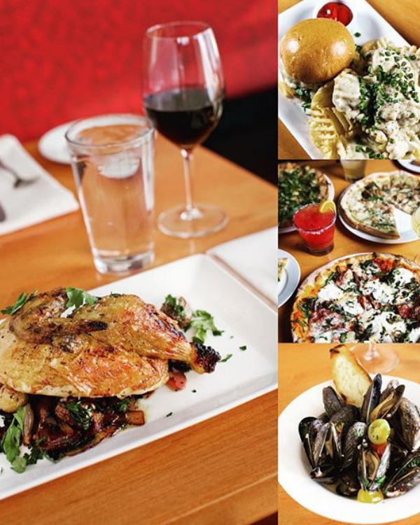 Jackson Hole places to eat include Trio an American Bistro.